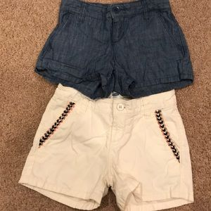 2️⃣ pair of Old Navy Shorts